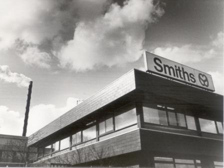 De fabriek in 1984.