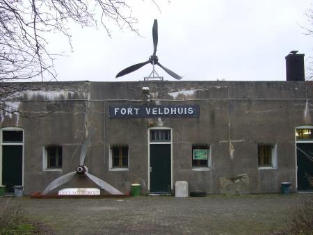 ARG '40-'45 museum Fort bij Veldhuis.