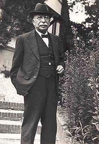 Onderwijzer en veldbioloog Jac. P. Thijsse (1865 - 1945)