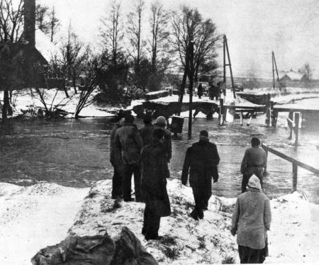 De doorbraak in de vroege ochtend van 14 januari 1960.