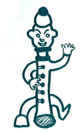 Logo van peuterspeelzaal Piccolo eind jaren '70.