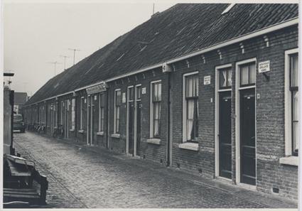 Tweede Kabelstraat in Alkmaar in 1958.