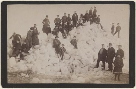 Foto Dekema, Enkhuizen winter 1928/29. PA 559-01580B