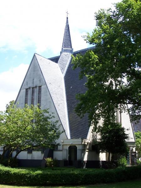 Het 'Witte Kerkje' in Bergen