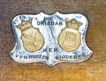 Detail maquette gemaal Waterschap De Drieban: de wapens