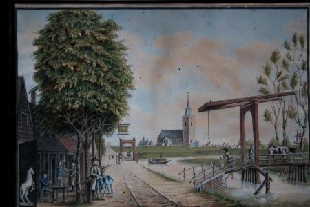 Jacob Bolten, Gezicht op Naarden.