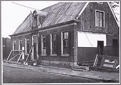 Het Noorderhuis aan de Lagedijk in Zaandijk, begin jaren zeventig