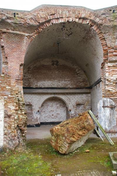Binnenkant Fort Uitermeer