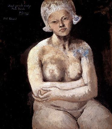 La belle Hollandaise, door Pablo Picasso, 1905.