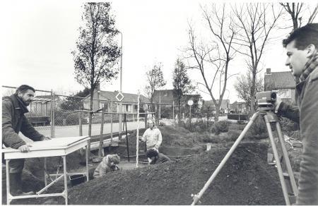 Archeologische opgraving Vronen, 1991.