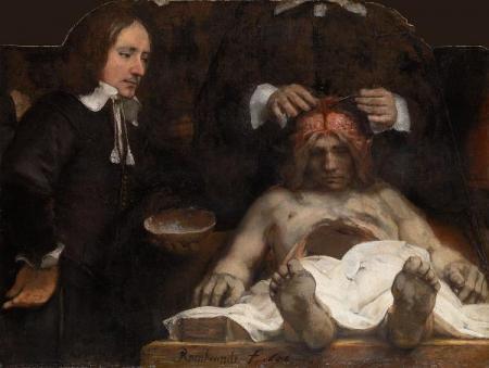 Anatomische les van Dr. Jan Deijman
