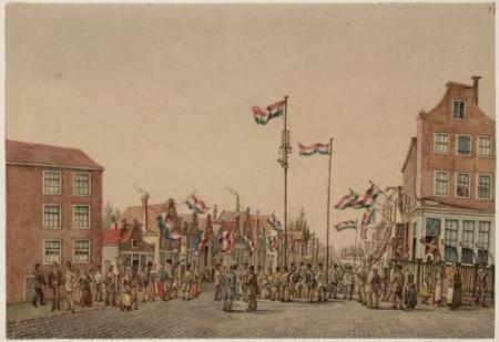 De feestelijke inwijding van de Willemsstraat op 24 augustus 1857