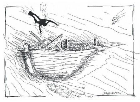 Eerste schets uit 1987