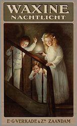 Affiche van Verkade, 1900.