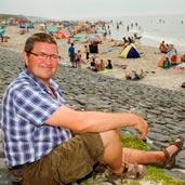 Jan van Assem op de Hondsbossche.