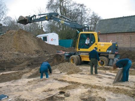 Archeologische opgraving Kennemerstaete te Heiloo (2006).
