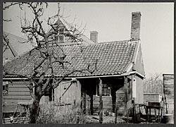 Het huisje Kerkbuurt 61 in Westzaan