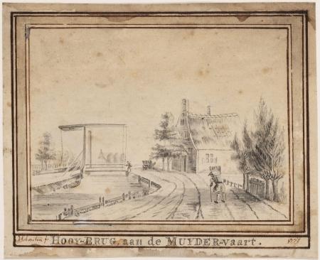 Zeesluis Muiden, 1778