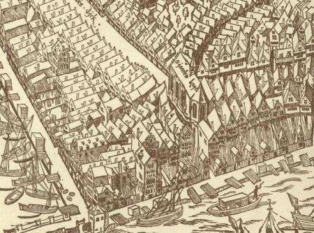 De Sint-Jacobskapel en omgeving.