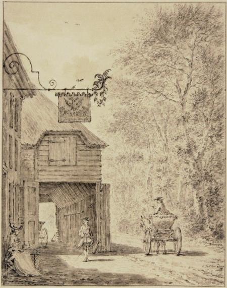Herberg 'De Dorstige Kuil'.
