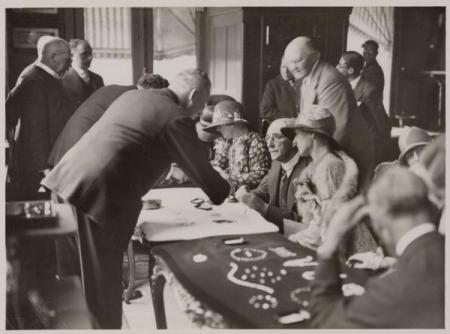 Diamantslijperij Asscher, ca. 1929.