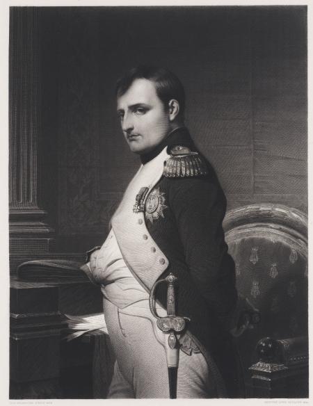 Aristide Louis, Portret van keizer Napoleon, 1841.