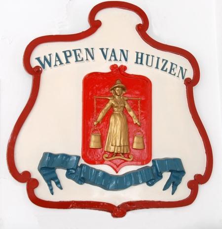 Het eerste wapen van Huizen.