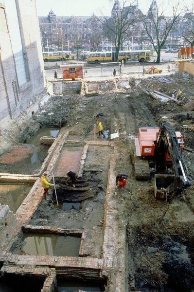 De opgraving in 1988.