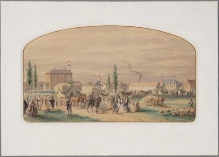 Oogstfeest Badhoeve, 1862