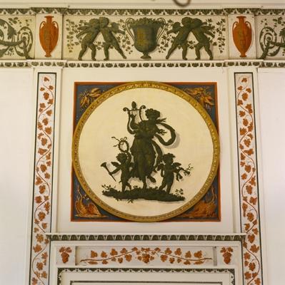 Huis Barnaart, detail Etrurische Kamer.