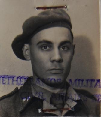 Wout Jonasse in de periode dat hij werkzaam was op de Levantkade