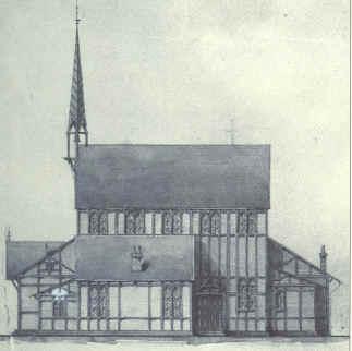 Kapel van begraafplaats Sint Barbara.