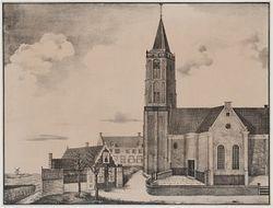 In 1843 stortte de kerktoren van Westzaan in. Met acht doden tot gevolg