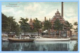 Melkfabriek Hollandia in 1915.