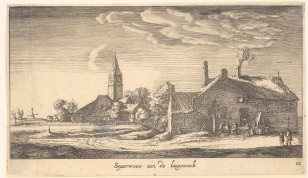 Spaarnwoude in de zeventiende eeuw.