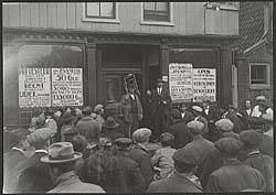 Het belastingprotest van 1910.