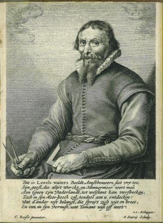 Portret van Leeghwater