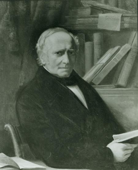 Portret van Albertus Perk.