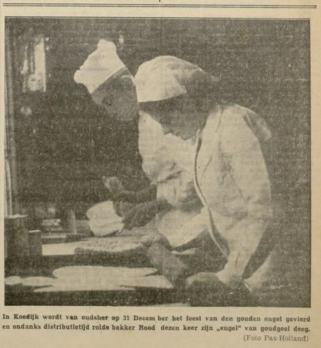 Regionaal Archief Alkmaar: uit de courant van januari 1941.