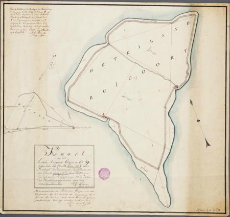Het eiland Ruigoord.
