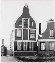 De herbouw op de Zaanse Schans, 1964