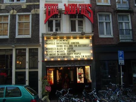 The Movies, de oudste - nog bestaande - bioscoop van Amsterdam.