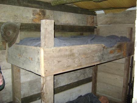 Slaapzaal Fort bij Edam