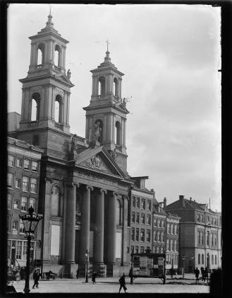 De Mozes en Aäronkerk in 1891 – Jacob Olie – Stadsarchief Amsterdam
