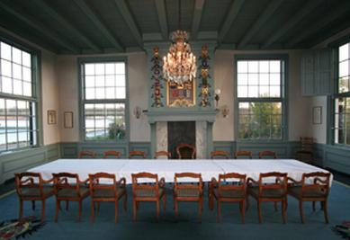 Interieur van het Gemeenlandshuis. Bron: Hendrick de Keyser