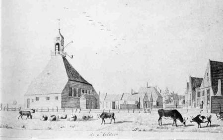 Panorama op Helder anno 1791