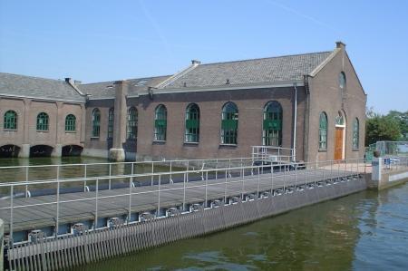 Gemaalgebouw in Spaarndam