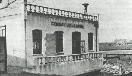 Gemaal J.C. de Leeuw ca. 1940.