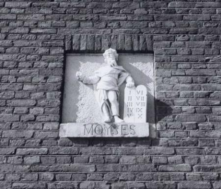 De Mozes gevelsteen – Martin Alberts – Stadsarchief Amsterdam