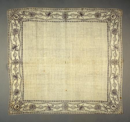 Gelegenheidsdoek, 1787.